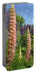 Lupin Summer Portable Battery Charger by Martin Howard