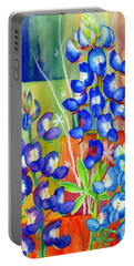 Lupinus Texensis Portable Battery Charger
