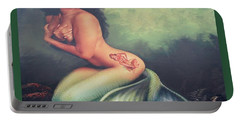 Lydia The Tattooed Mermaid Portable Battery Charger