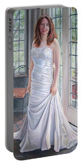 Lydia's Wedding Portrait Portable Battery Charger