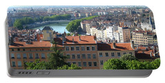Lyon From Above Portable Battery Charger by Dany Lison
