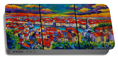 Lyon Panorama Triptych Portable Battery Charger