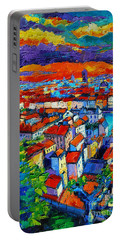 Lyon View - Triptych Left Panel Portable Battery Charger