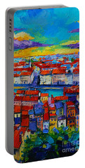 Lyon View - Triptych Center Panel Portable Battery Charger