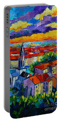 Lyon View - Triptych Right Panel Portable Battery Charger