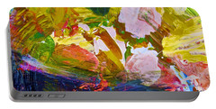 Portable Battery Charger featuring the painting Intuitive Painting  267 by Joan Reese