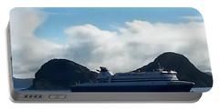 M V Atlantic Vision Digital Painting Portable Battery Charger