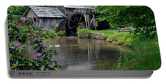 Mabry Mill In May Portable Battery Charger