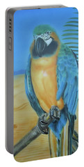Macaw On A Limb Portable Battery Charger
