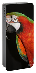 Portable Battery Charger featuring the photograph Macaw Profile by John Telfer