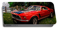 1969 Ford Mach 1 Mustang Portable Battery Charger