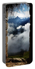 Machu Picchu Peru 4 Portable Battery Charger by Xueling Zou