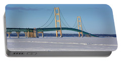 Mackinac In March Portable Battery Charger