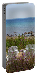 Mackinac View Portable Battery Charger