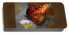 Macro Butterfly Portable Battery Charger