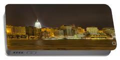 Madison - Wisconsin City  Panorama - No Fireworks Portable Battery Charger