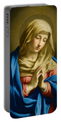 Madonna At Prayer Portable Battery Charger