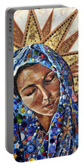 Blessed Virgin Mary Portable Battery Chargers