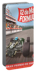 Madrid Grand Prix 1968 Portable Battery Charger