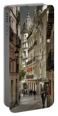 Madrid Streets Portable Battery Charger