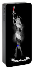 Mae West As The Statue Of Liberty No Known Date - 2010  Portable Battery Charger