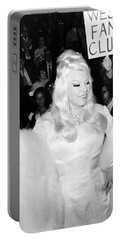 Mae West At Premiere Portable Battery Charger