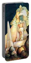 Magic Vegas Sphinx - Fantasy Art Painting Portable Battery Charger