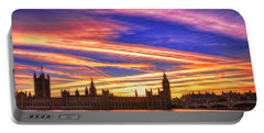 Magical London Portable Battery Charger by Midori Chan