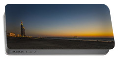 magical sunset moments at Caesarea  Portable Battery Charger