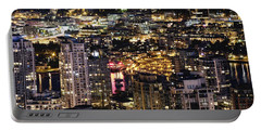 Portable Battery Charger featuring the photograph Magical Yaletown Harbor Mdxlix by Amyn Nasser