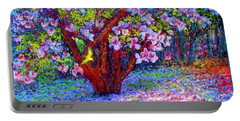 Magnolia Melody Portable Battery Charger by Jane Small