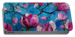 Magnolias For Ever Portable Battery Charger