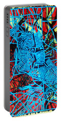 Maiden In Blue - Mary In The Temple Portable Battery Charger