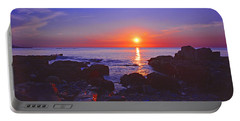Maine Coast Sunrise Portable Battery Charger