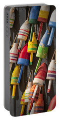 Maine Fishing Buoys Portable Battery Charger