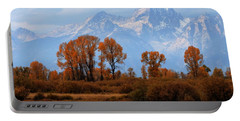 Majestic Backdrop Portable Battery Charger by David Andersen