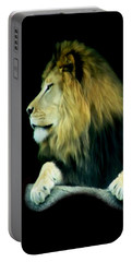 Portable Battery Charger featuring the photograph Majestic King by Maria Urso