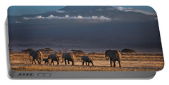 Portable Battery Charger featuring the photograph Majestic Mount Kilimanjaro - Omg by Gary Keesler