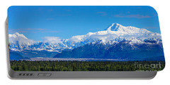 Majestic Mt Mckinley Portable Battery Charger by Jennifer White