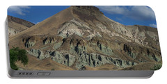 Portable Battery Charger featuring the photograph Majestic Rimrock by Chalet Roome-Rigdon