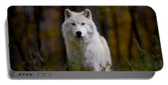 Portable Battery Charger featuring the photograph Majesty by Wolves Only