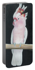 Major Mitchell Cockatoo Portable Battery Charger by Jan Matson