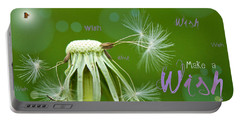 Make A Wish Card Portable Battery Charger