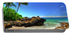Makena Secret Cove Paako Beach Portable Battery Charger by Kelly Wade