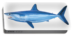 Mako Shark Portable Battery Charger by Carey Chen