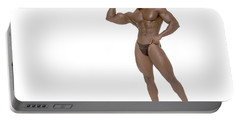 Male Bodybuilder Portable Battery Charger
