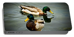 Mallards On Mendota Portable Battery Charger