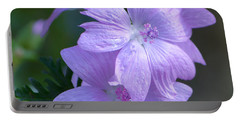 Mallow Blossoms Portable Battery Charger
