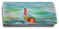 Strolling On The Water Portable Battery Charger