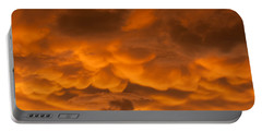 Mammatus Clouds Portable Battery Charger by Paul Rebmann